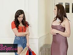 Twistys - mom Knows terrific - Chanel Preston Whitney Wright - Shopaholic