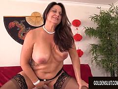 A forceful snatch screwing that hot aged leylani wood is sure to get a kick out of Mature XXX